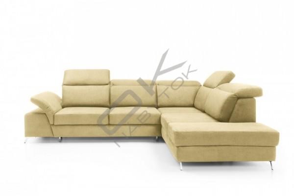 """Rohová sedacia súprava CALVARO - """"Akcia"""" sivá"""