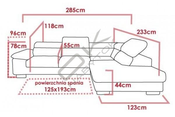 Kožená rohová sedacia súprava COSTA - široký výber farieb
