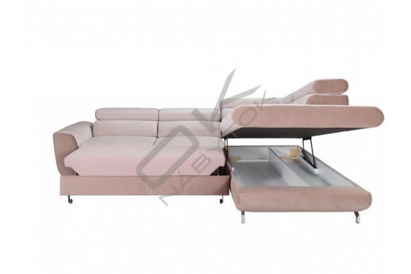 Moderná rohová sedacia súprava PIANO - široký výber farieb