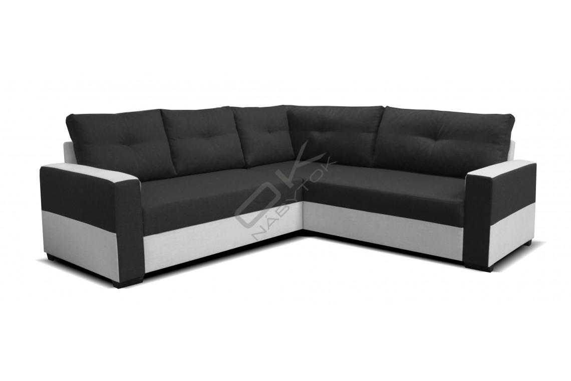 Rohová sedačka ARENNA VEĽKÝ ROH s taburetkou - široký výber farieb