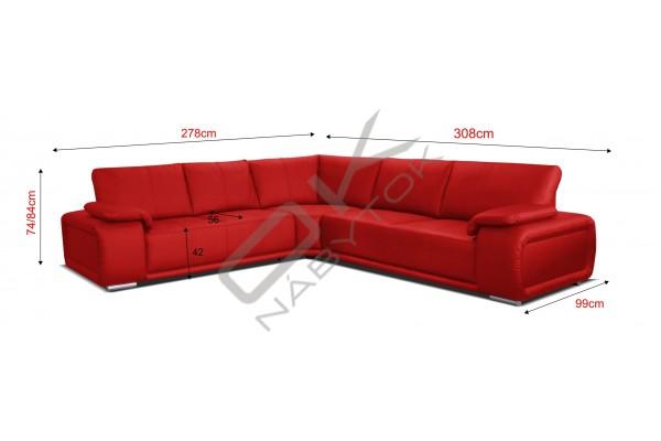 Rohová sedacia súprava BUFFALO ROH