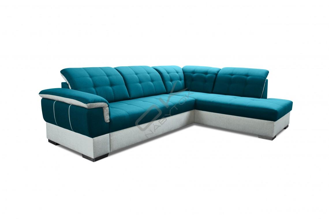 Rohová sedacia súprava GALAXY - široký výber farieb