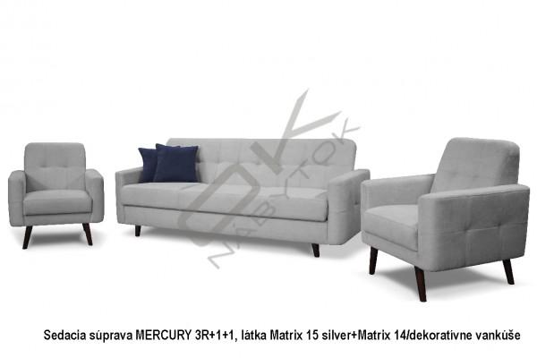 Sedacia zostava MERCURY 3R+1+1