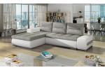 Atavia, AKCIA - Berlin 01 svetlosivá + eko koža Soft 17 biela/korpus 558.00€