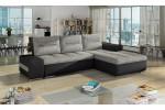 Felima, AKCIA - Berlin 01 svetlosivá + eko koža Soft 11 čierna/korpus 599.00€