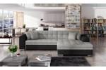 Sydney, AKCIA - Berlin 01 svetlosivá + eko koža Soft 11 čierna/korpus 617.00€