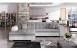 Sydney, AKCIA - Berlin 01 svetlosivá + eko koža Soft 17 biela/korpus 636.00€