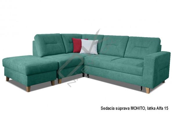 Rohová sedacia súprava MOHITO L