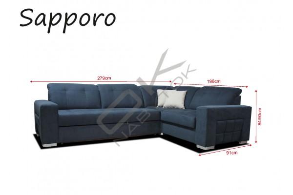 Rohová sedacia súprava SAPPORO