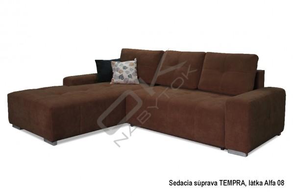 Rohová sedacia súprava TEMPRA