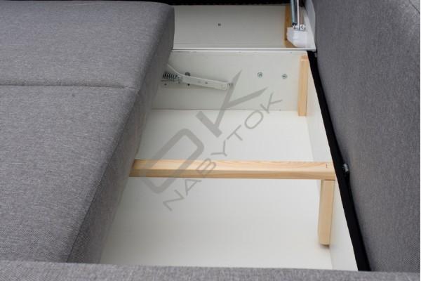 FENIX Rohová sedacia súprava ALFREDO - horčicová