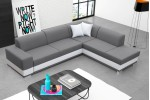 Darci -- Inari 91 svetlosivá+Soft 17 biela/lem