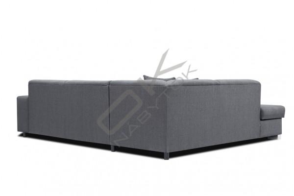 FENIX Rohová sedacia súprava DIEGO - čierna