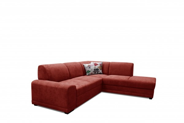 FENIX Rohová sedacia súprava LAGO - červená