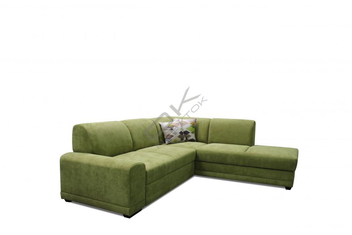 FENIX Rohová sedacia súprava LAGO - zelená
