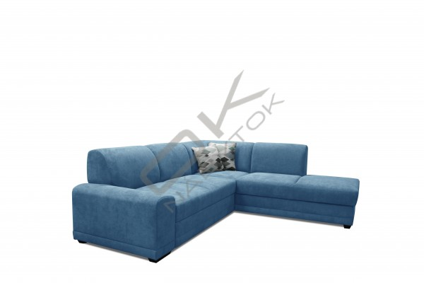 FENIX Rohová sedacia súprava LAGO - modrá