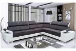 Marbela - Lux 23 čierna + Soft 31 biela/korpus