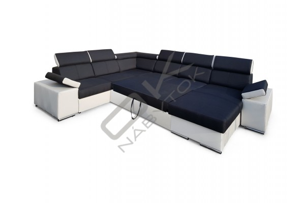 Rozkladacia sedacia súprava RICO PANORAMIC - široký výber farieb