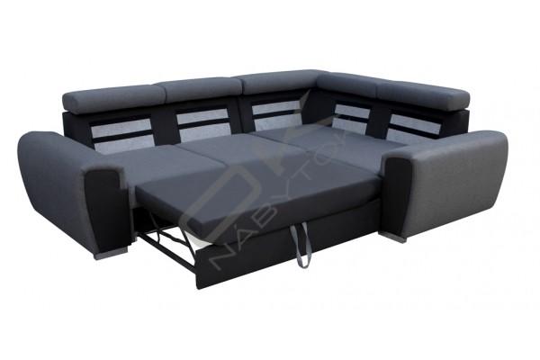 FENIX Rohová sedacia súprava WARD - staroružová