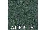 AKCIA - látka Alfa 15 zelená