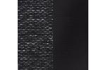AKCIA, látka Berlin 02 čierna + eko koža Dolaro čierna/korpus