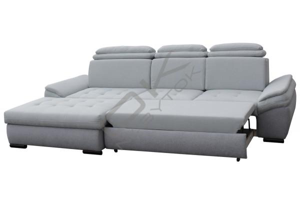 Rozkladacia rohová sedacia súprava NATIK - mint