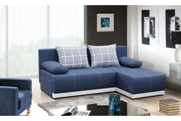 FENIX Rohová sedacia súprava POLARIS - modrá