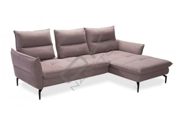 Rohová sedačka AXEL s taburetkou - široký výber farieb