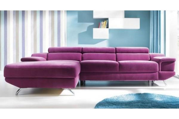 Rohová sedacia súprava COLETTO MALÝ ROH - široký výber farieb