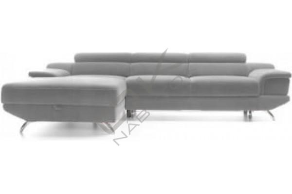 Rohová sedacia súprava COLETTO MALÝ ROH