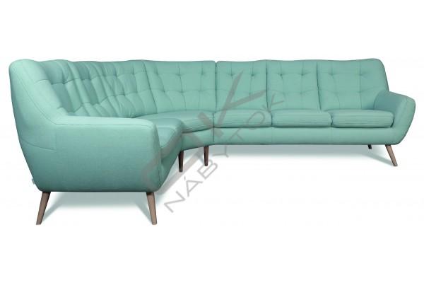 Rohová sedacia súprava SCANDI VEĽKÝ ROH - široký výber farieb