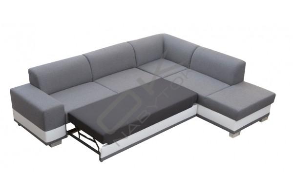 FENIX Rohová sedačka DARCI - čierna