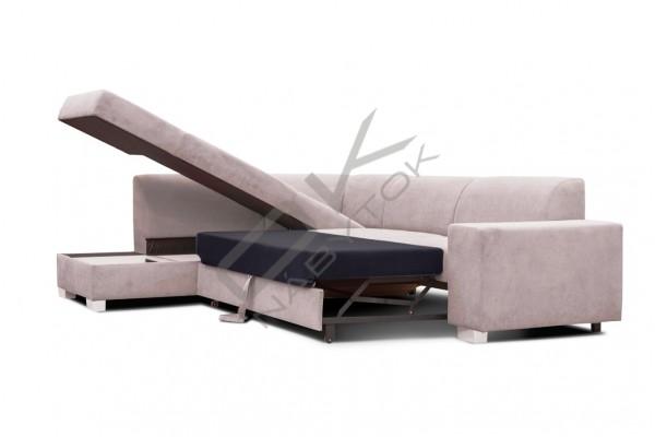 FENIX Rohová sedacia súprava DIEGO - sivá
