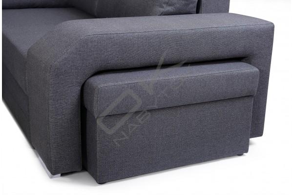 Rohová sedačka SANDY U - široký výber farieb