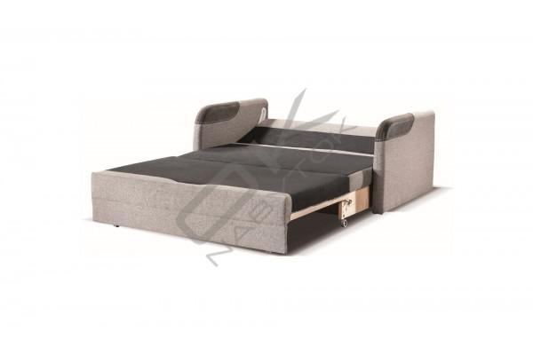 Pohovka JERRY 120 2FBK, s funkciou rozkladania a úložným boxom