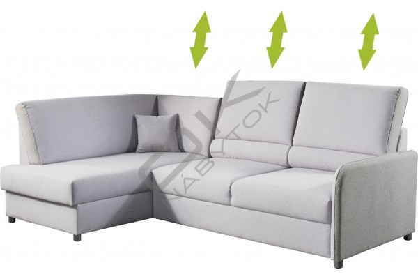 Rohová sedacia súprava MAREY - široký výber farieb