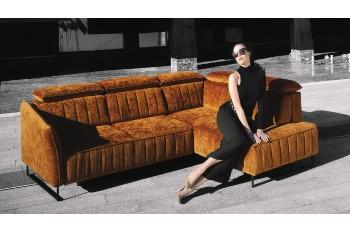 LIBRO Rohová sedacia súprava SORENTO - široký výber farieb