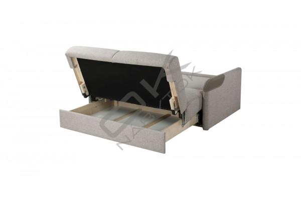 Pohovka VENUS  2FBK, s funkciou rozkladania a úložným boxom