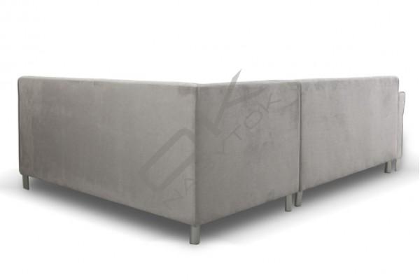 Rohová sedacia súprava BROADWAY s taburetkou