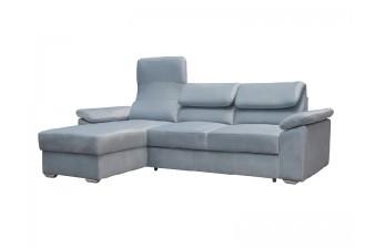 Rohová sedacia súprava  COMFORTO sivomodrá
