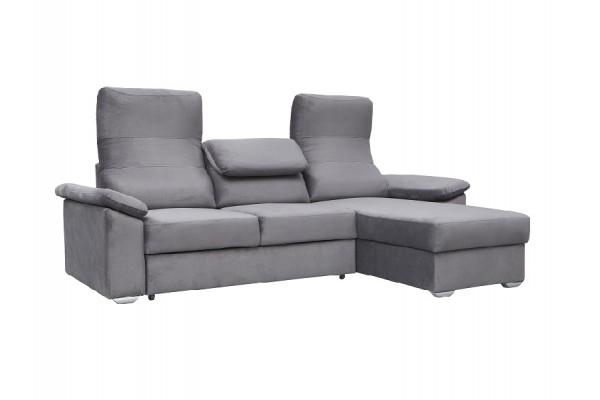 Rohová sedacia súprava  COMFORTO sivá