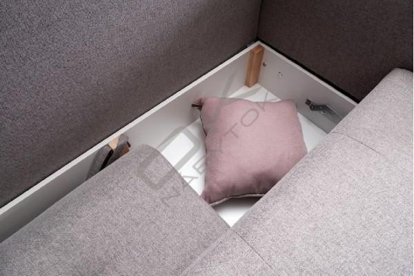 Rohová sedacia súprava DENIS