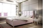 Zobrazená posteľ / Kronos 27 ružová