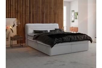 Posteľ KORFU s matracom a úložným boxom