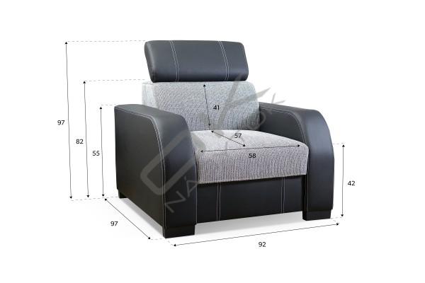 Rohová sedacia súprava MARRIOTT