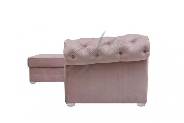 Rohová sedacia súprava  RAMONA staroružová