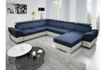 Kazara  - Lux 20 modrá + Soft 31 biela