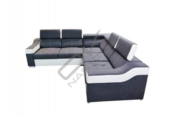 Rohová sedacia súprava SEGORIA - široký výber farieb