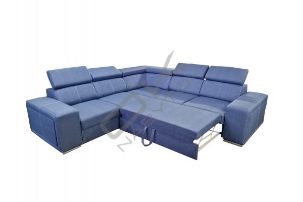 Rohová rozkladacia sedacia súprava SEGORIO - široký výber farieb