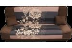 Finka 3R - Alova hnedá/kvet béž